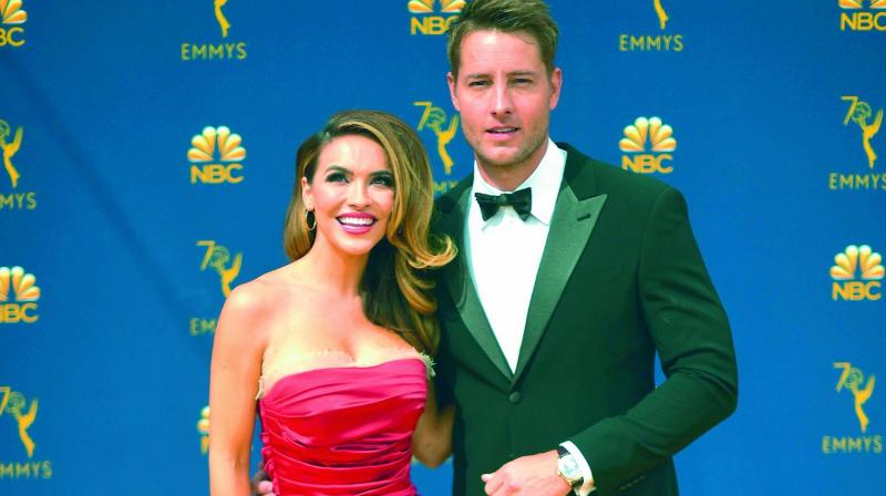 Justin Hartley and Chrishell Stause Hartley