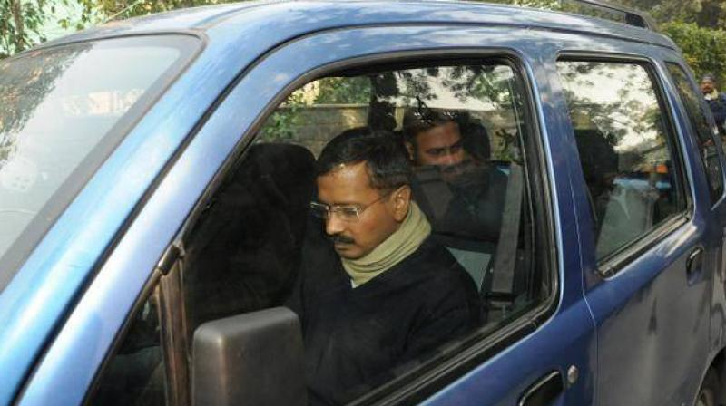 A creaky WagonR, used by Delhi Chief Minister Arvind Kejriwal till the 2015 Assembly election and which helped cement his position as the 'aam aadmi', was stolen from outside the Delhi Secretariat.(Photo: File | PTI)