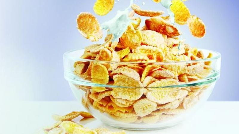 A small desert, such as a cookie or cake in breakfast is more effective for weightloss