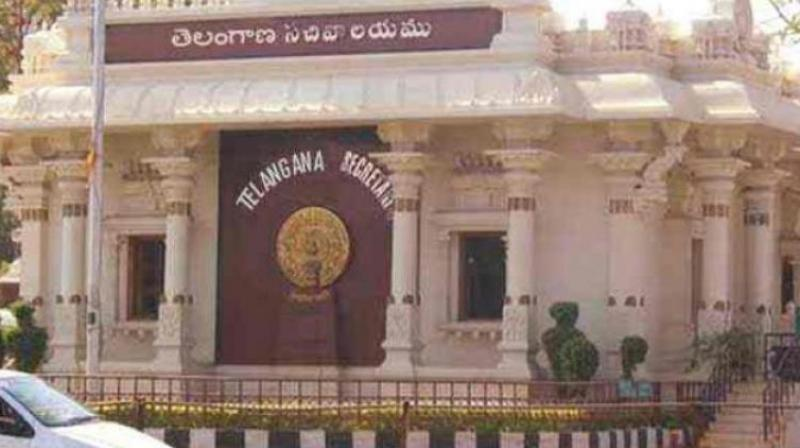 Image result for telangana secretariat
