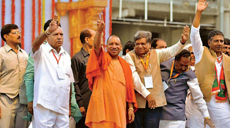 Choose between worshippers of Tipu and those of saints, says Yogi Adityanath