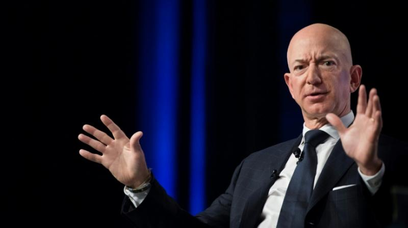 Amazon declined to comment on Bezos' stock sale. (Photo: AFP)