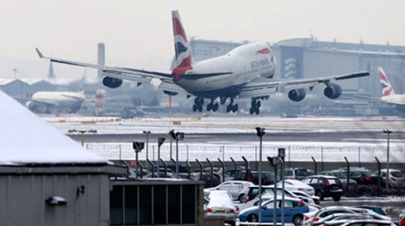 The memory stick was found by a man on Ilbert Street in London, around 16 km from Heathrow. (Photo: AFP)