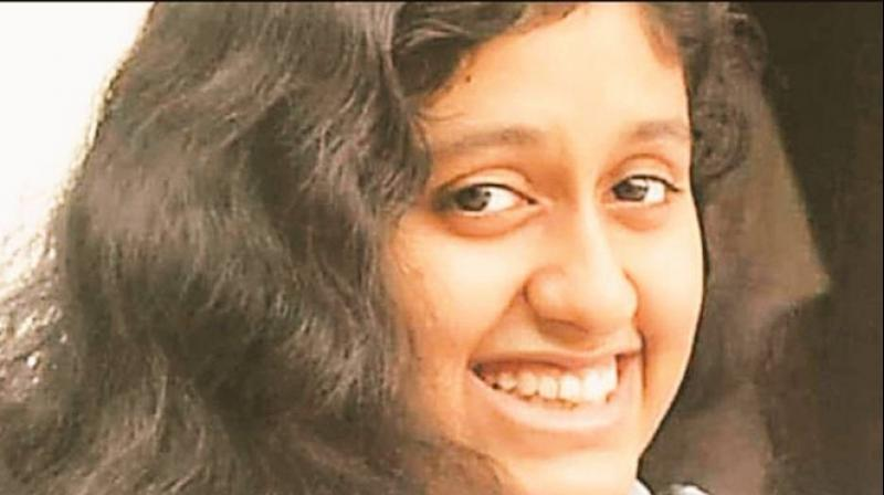 Police, in their version, had reported that Fathima was homesick and was struggling with the 'logistics' subject. (Photo: Twitter)
