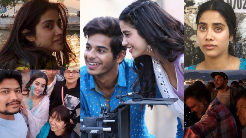 Pictures Janhvi Kapoor shared on Instagram.