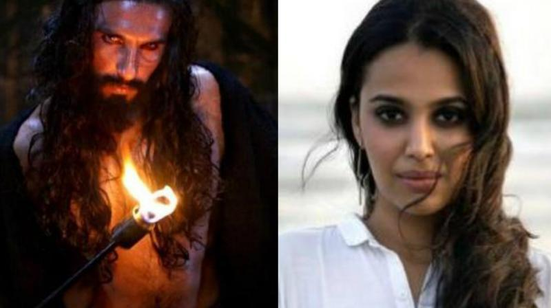 Swara Bhasker's open letter on the Ranveer Singh starrer 'Padmaavat' got mixed reviews.