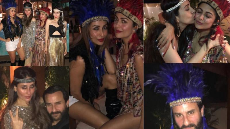 Stars brought in former actress Amrita Arora's birthday with a grand bash held in Goa late Tuesday. (Photos: Instagram)