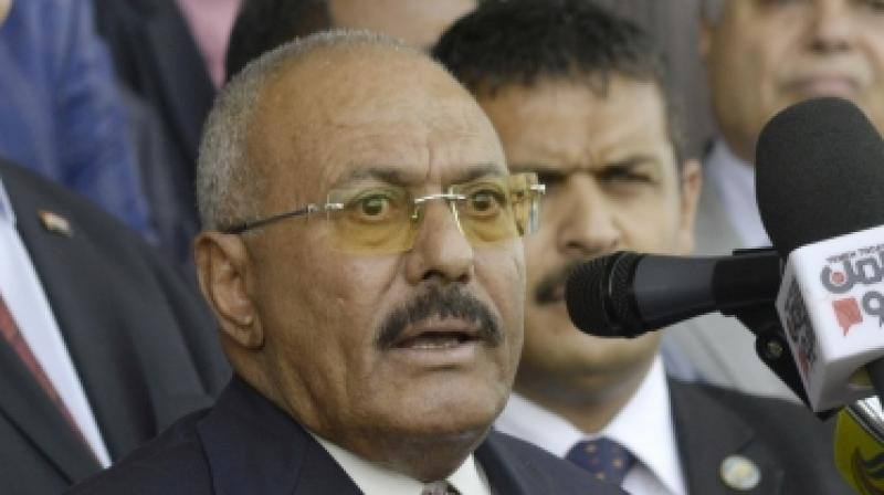 Ali Abdullah Saleh survived several assassination attempts during his decades at the helm in Yemen, but the former President's luck ran out on Monday. (Photo: AP)