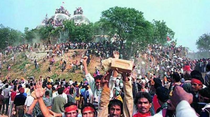 A  quarter century ago a 16th century mosque was pulled down in Ayodhya by Hindutva stormtroopers in an act of unspeakable criminality which did violence to the fundamental values of our Constitution and the civilisational ethos of the country.