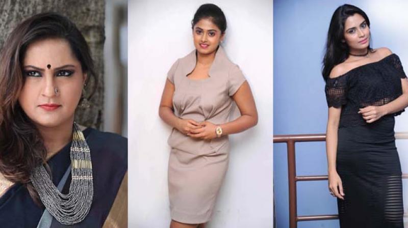 Sujatha, Meghashree and Sangeetha Bhat