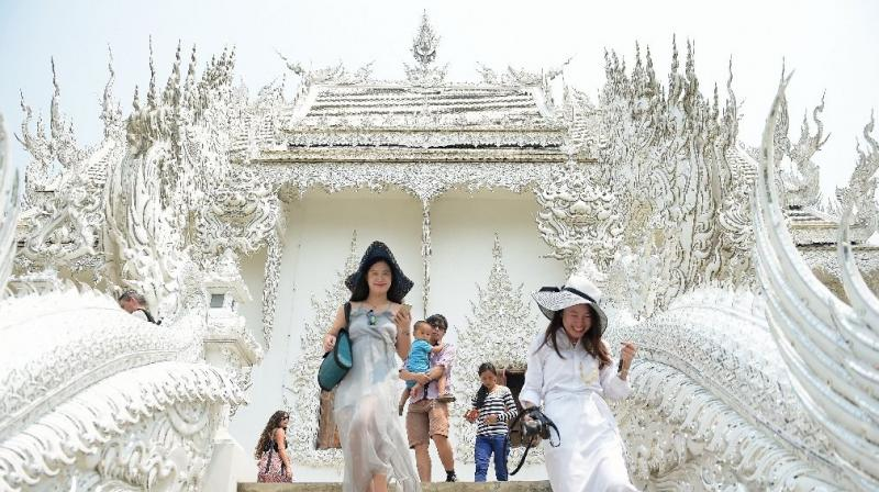 Thailand on Tuesday halved the visa on arrival fees for tourists from India and 18 other countries. (Photo: AFP/File)