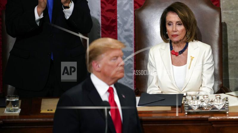 US lawmakers have reached an agreement in principle to avoid a new government shutdown. (Photo:AP)