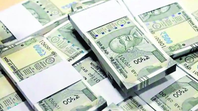 The rupee opened strong at 69.47 at the interbank forex market, but lost ground and touched 69.67 per dollar.