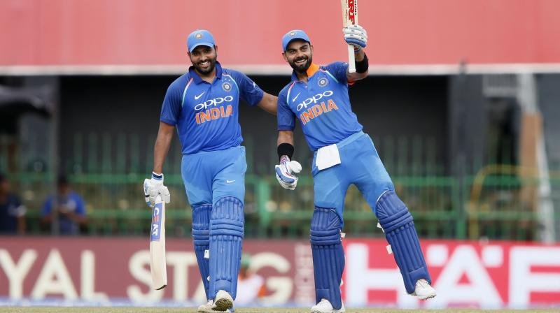 Last week, the BCCI announced that Rohit would lead the Men in Blue for the upcoming Asia Cup 2018 tournament with Kohli being rested. (Photo: AP)