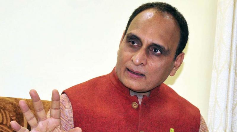 Rajya Sabha MP and RSS thinker Rakesh Sinha.