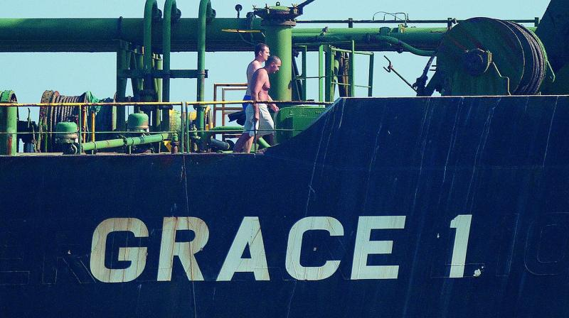 Iranian oil supertanker Grace 1.
