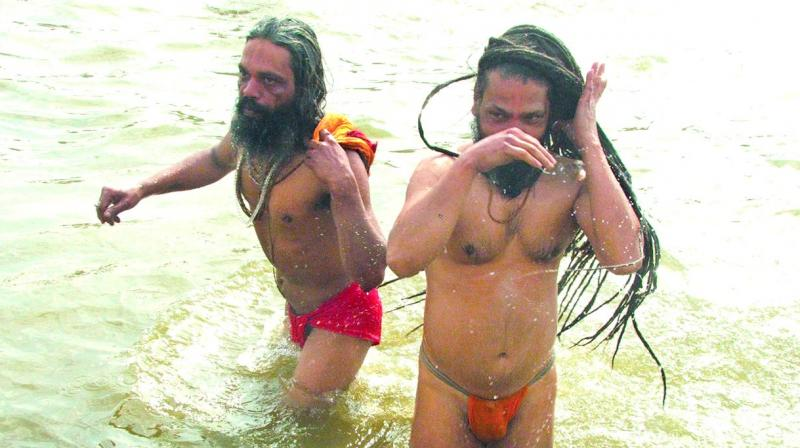 The numbers of India's sadhus are falling. Many of the 'Naga Sadhus' at the Kumbh are fake, people paid to take part to bump up numbers. (Biplab banerjee)