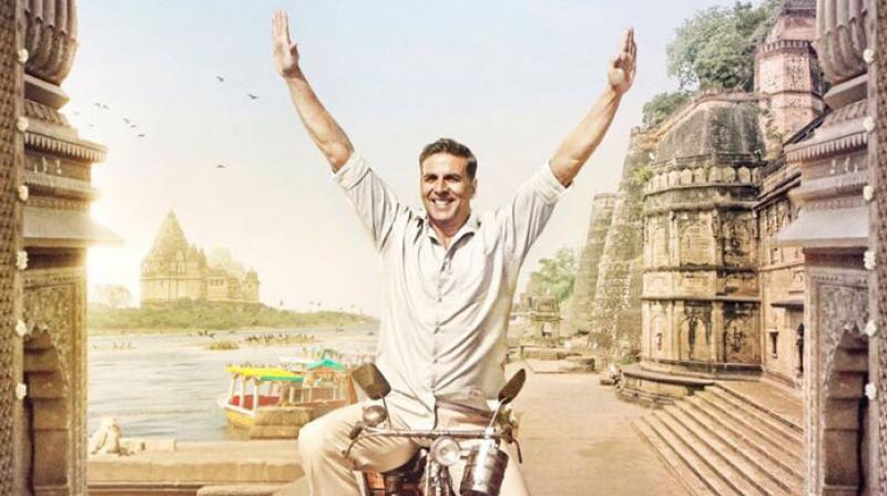 Akshay Kumar in a still from 'Padman'.