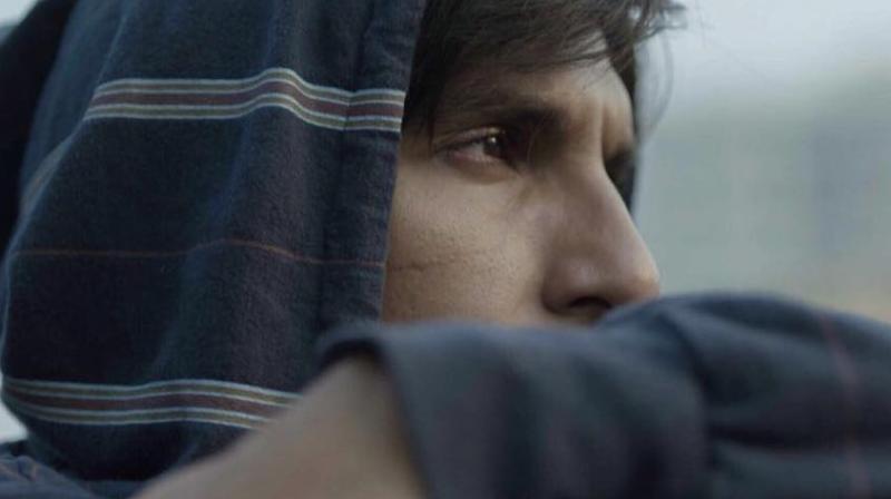 Ranveer Singh in Gully Boy.