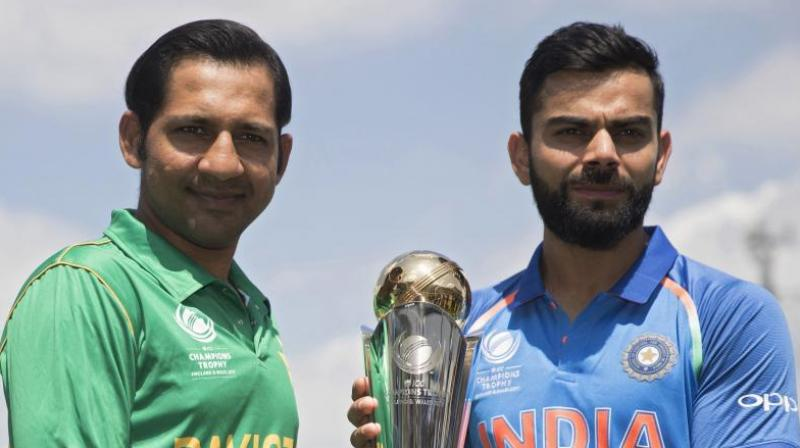 Ehsan Mani had said that if Pakistan succeeded in registering their name among top three cricket teams of the world then India would come on their own to play against them.(Photo: AP)