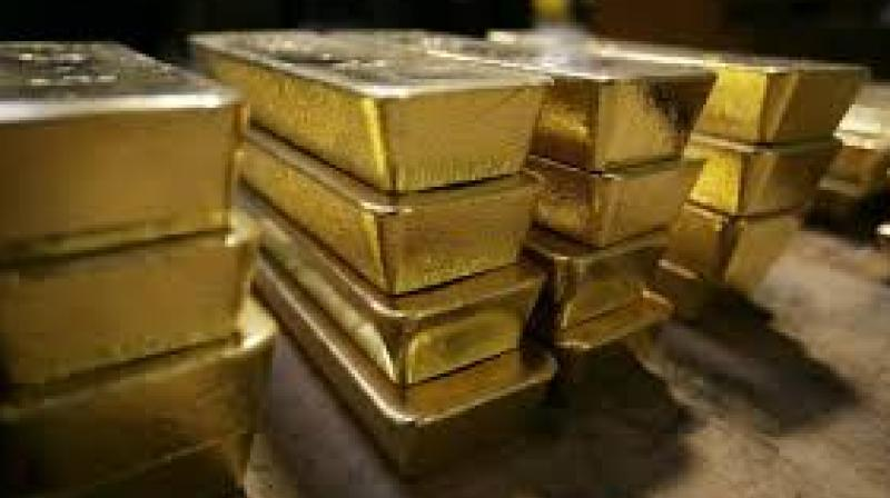 Globally, gold rose 0.51 per cent to USD 1,263 an ounce and silver by 0.41 per cent, to USD 14.76 an ounce in New York.