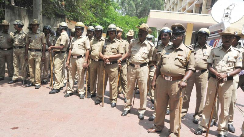 Senior police officers are still working out a plan to deploy the personnel, as they are still deciding from where to get the policemen.  (Representational image)