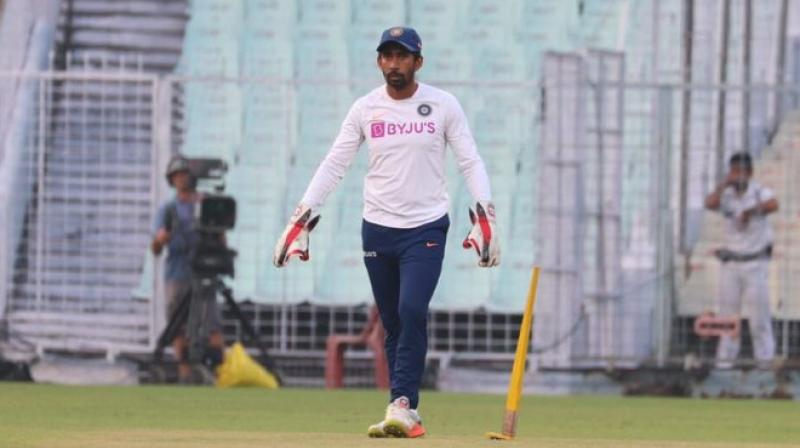 Wriddhiman Saha undergoes surgery for finger fracture