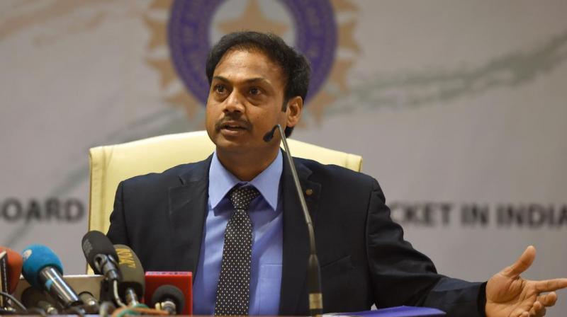The Board of Control for Cricket in India (BCCI) president Sourav Ganguly on Sunday confirmed that MSK Prasad-led selection panel's tenure is over. (Photo:AFP)