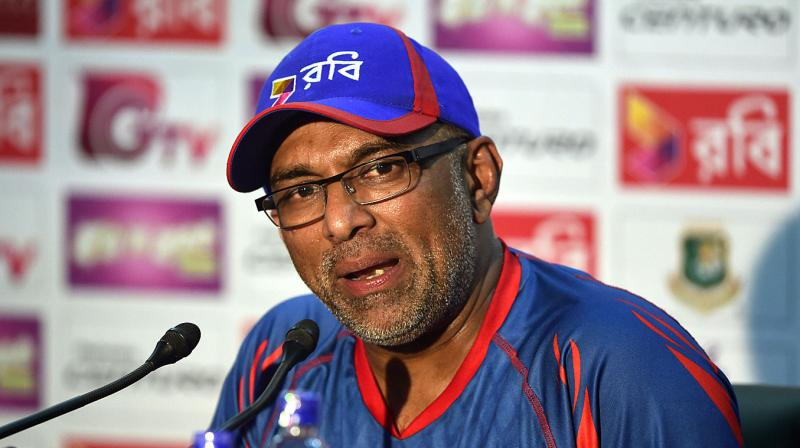 Chandika Hathurusingha, 49, resigned as Bangladesh coach in October after guiding the national team to Test victories over England and Australia. (Photo: AFP)
