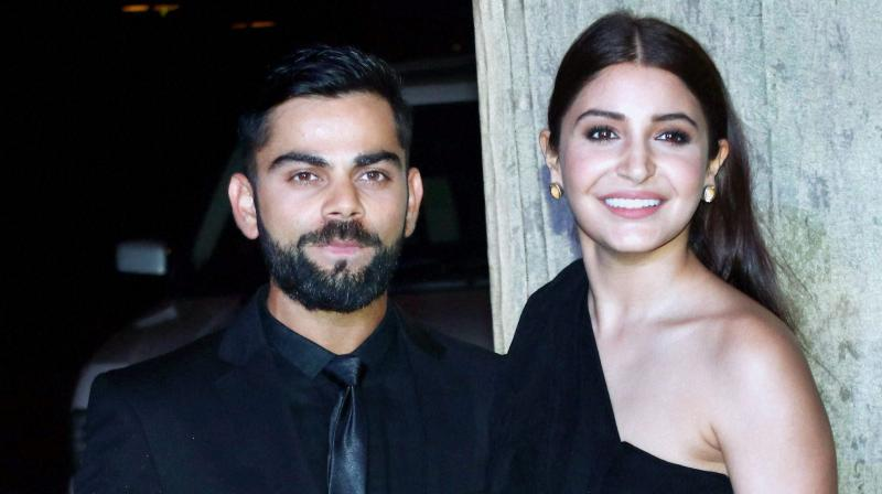 While the reports of marriage in Europe continue to do the rounds, it is now learnt that Bollywood actress Anushka Sharma will be with her beau Virat Kohli during India's tour of South Africa. (Photo: PTI)