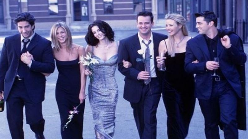 Friends cast members post Instagram tributes to celebrate 25th anniversary