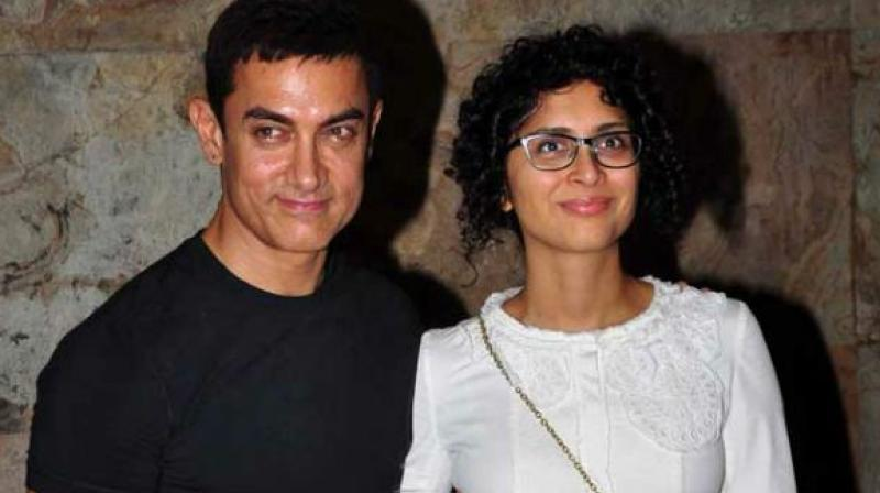 Aamir Khan and Kiran Rao.