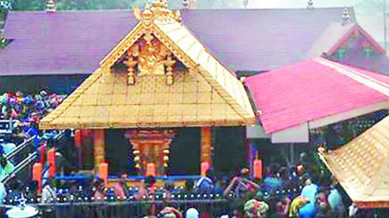 Amid row over women's entry, Sabarimala opens for pilgrimage season