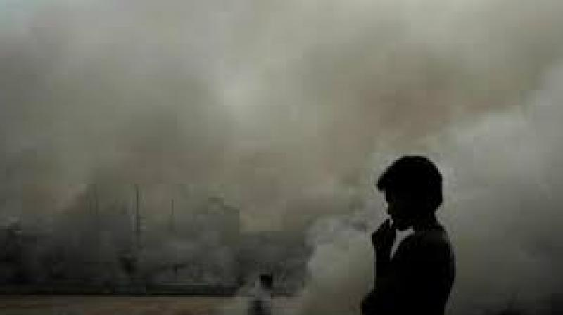 The air quality index in Delhi stood at 463 at 4 pm on Friday, with Dwarka Sector 8 being the most-polluted area with an AQI of 495.