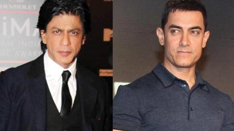 Shah Rukh Khan and Aamir Khan had recently wished each other for their films.