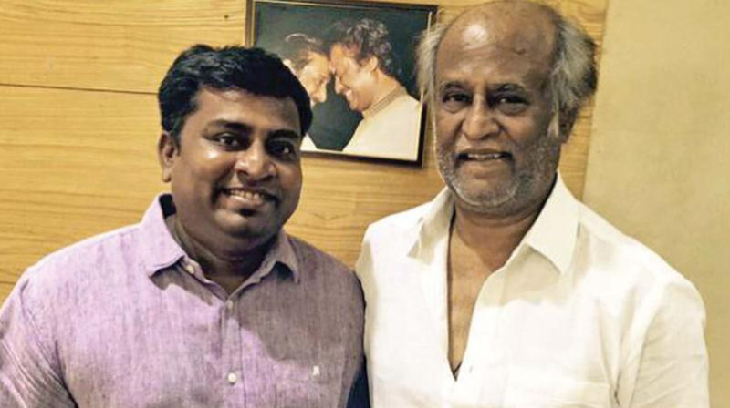 Praveen KL with Superstar.