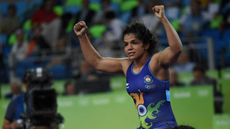 Sakshi Malik will now fight in 60kg category while Sarita will take her place in the 58kg. (Photo: PTI)