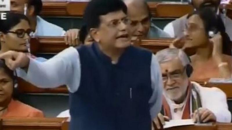 Railway Minister Piyush Goyal on Wednesday admitted that the government is moving towards corporatisation of its production units, including Rae Bareli Modern Coach Factory and said that the move will offer jobs, bring investments and ensure growth. (Photo: ANI)