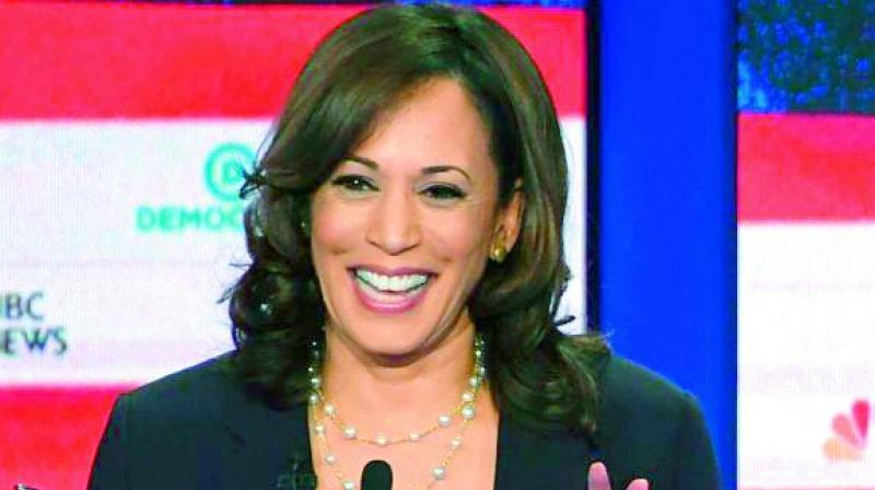 Us Elections 2020 Kamala Harris Talks Race Electability