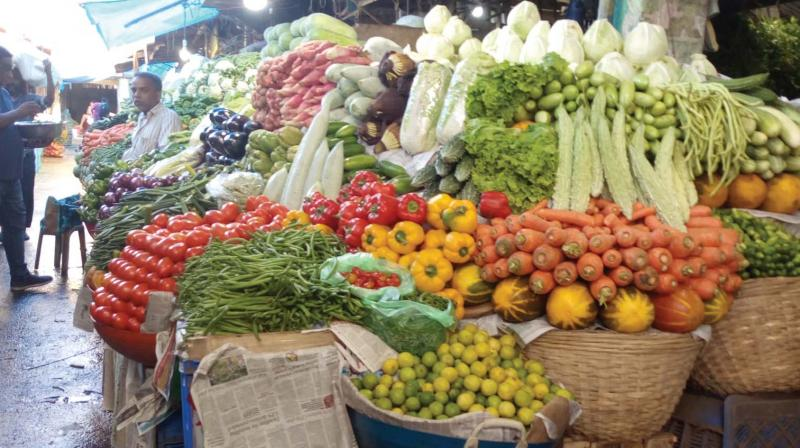 Traders foresee shortage of vegetables, especially bananas during this Onam festival season.