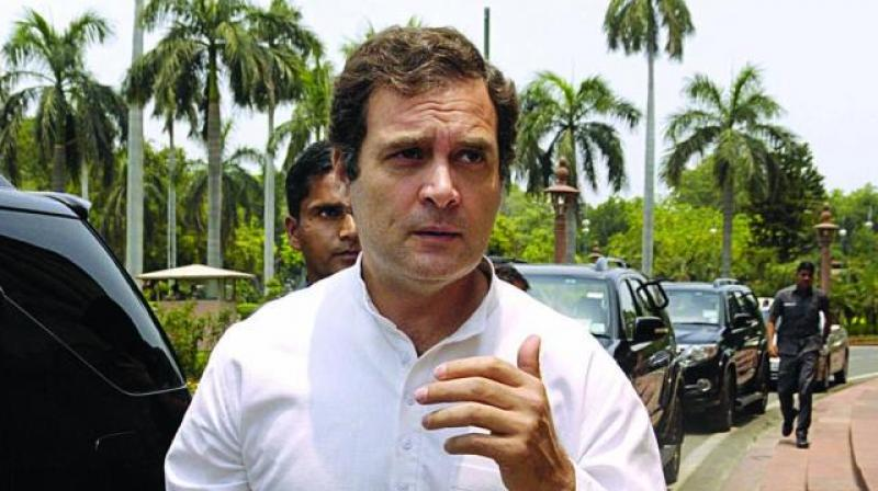 Congress leader Rahul Gandhi has welcomed the verdict of the International Court of Justice (ICJ) to continue its stay on the execution of the Indian national Kulbhushan Jadhav held in a Pakistani jail on allegations of spying. (Photo: File)