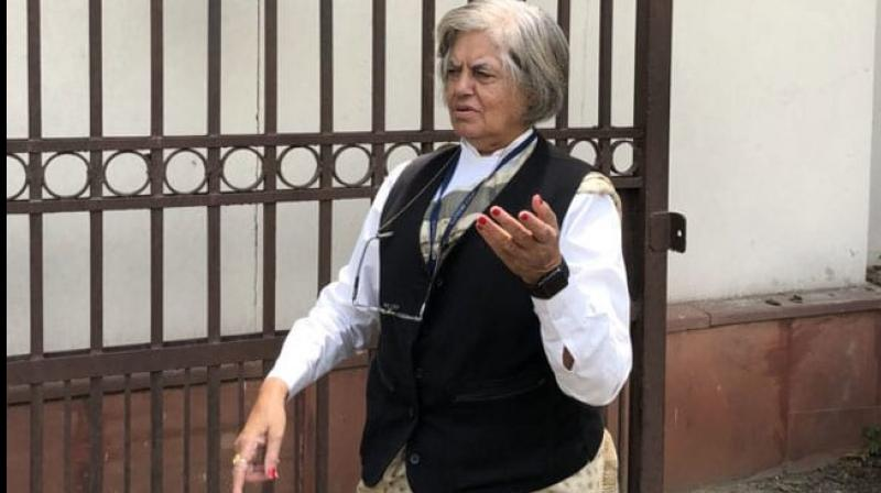 The CBI raided the offices of notable lawyer Indira Jaising and his husband Anand Grover husband on Thursday. (Photo: Twitter/ @jaising)