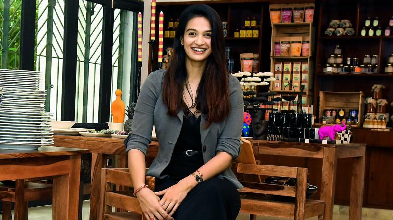 Hyderabad-based Tanya Burgula is all set to promote the concept of 'sustainable living'