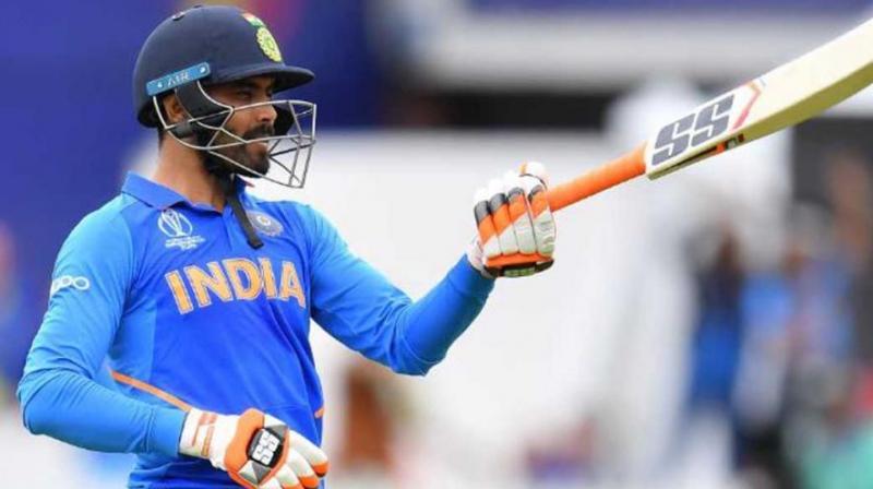 Ravindra Jadeja against New Zealand. (Photo: AP)