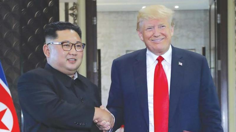 North Korean leader Kim Jong-un and US President Donald Trump  (Photo: AP)