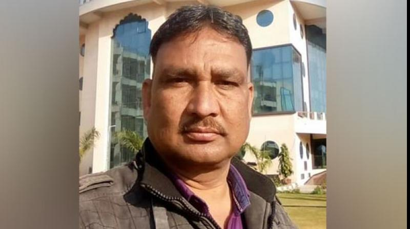 Head Constable Gani Mohammad was brutally beaten to death by some unknown miscreants when he was investigating a land dispute here in Bhim. (Photo: ANI)