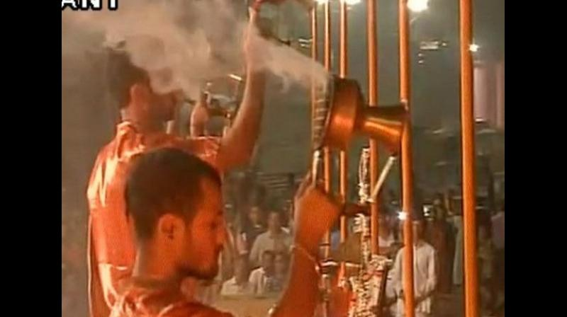 The timings of the daily ritual for Tuesday has been kept as 3:00 pm which is much before the usual time. (Photo: Representational Image/ ANI)