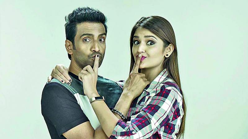 Santhanam and Tara Alisha Berry in A 1— Accused 1