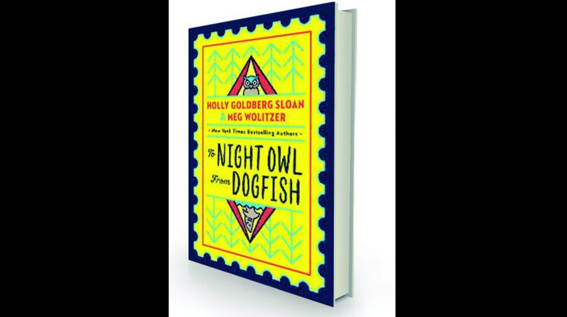 To Night Owl From Dogfish By Holly Goldberg Sloan and Meg Wolitzer Egmont, Rs 624