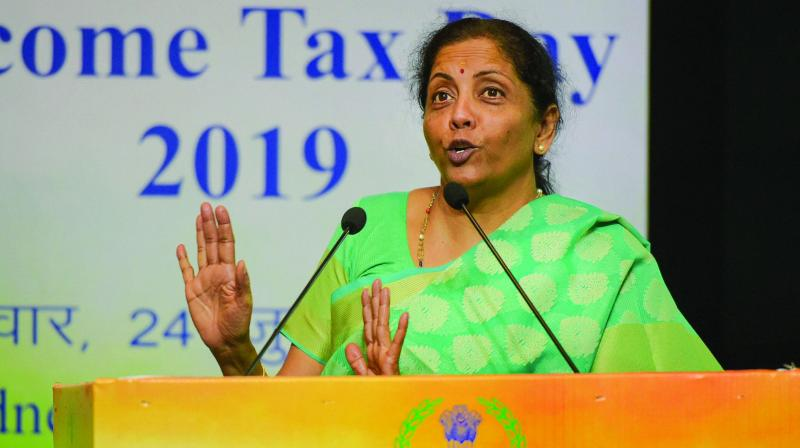 Nirmala Sitharaman said the government's efforts last time were thwarted by the poor numbers in the Upper House. (Photo: File)